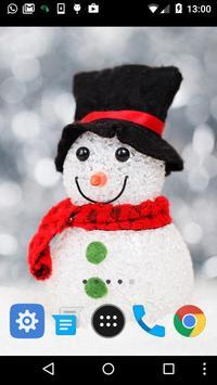 live snowman wallpaper apk screenshot