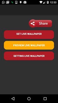 live snow wallpaper screenshot 2