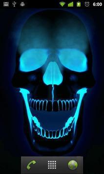 live skull hd wallpaper apk screenshot