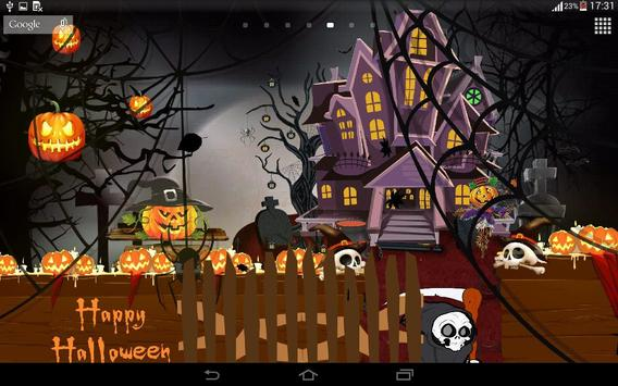 Halloween Live Wallpaper. apk screenshot