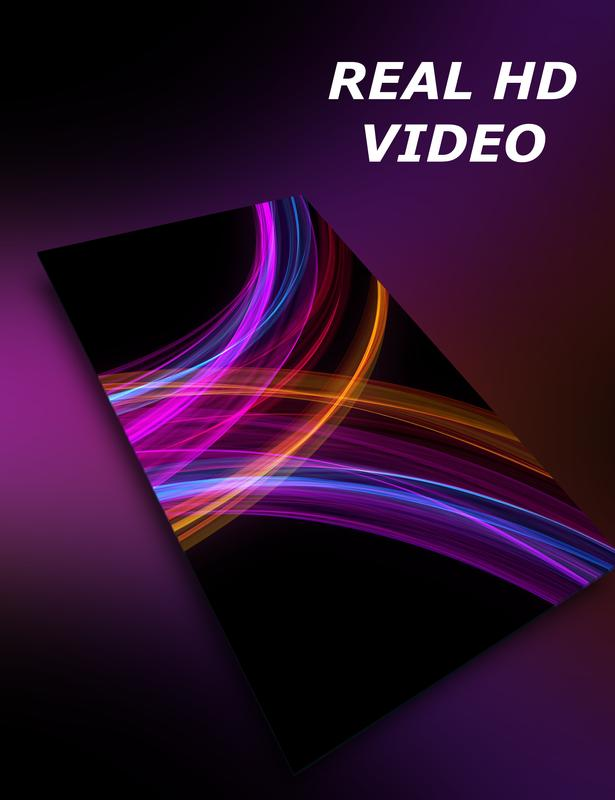 AMOLED live wallpaper - neon waves poster ...