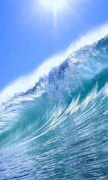 live wallpaper ocean wave poster