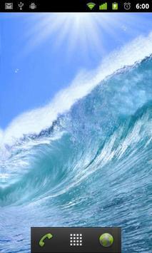 live wallpaper ocean wave apk screenshot