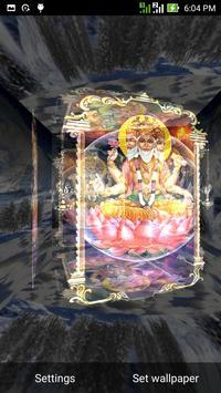 5D Brahma Live Wallpaper screenshot 1