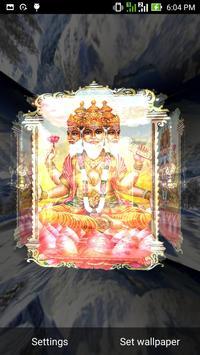 5D Brahma Live Wallpaper screenshot 2