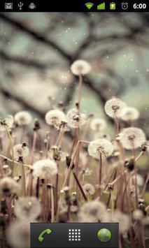 live wallpaper dandelion apk screenshot