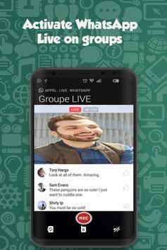 Live For WhatsApp groups apk screenshot