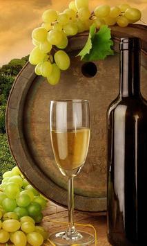 live wine wallpaper poster