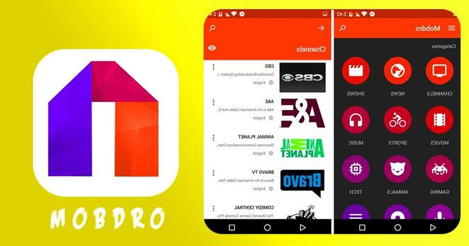 Mobdro Tv screenshot 1
