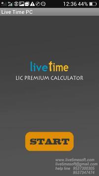 LIC LiveTime PremiumCalculator poster