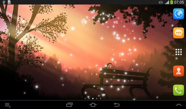 Forest Live Wallpaper screenshot 5