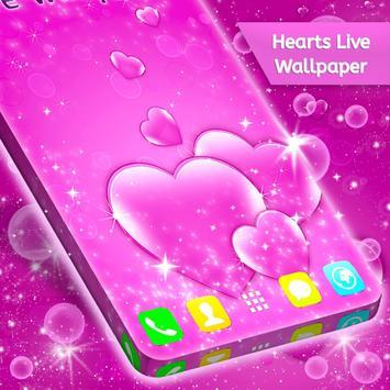 Hearts Live Wallpaper screenshot 1
