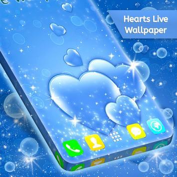 Hearts Live Wallpaper screenshot 2