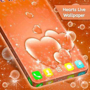 Hearts Live Wallpaper screenshot 3