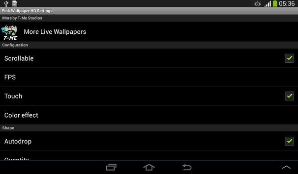 Pink Wallpaper HD apk screenshot