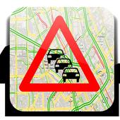 اكتشف حالة الطريق باستعمال GPS icon