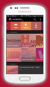 Free Mobdro Live Sports TV Online Tips screenshot 4