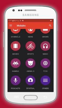 Free Mobdro Live Sports TV Online Tips screenshot 1