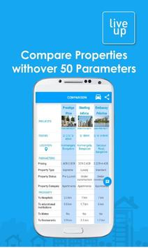 LiveUp-Real Estate & Property Search in India apk screenshot