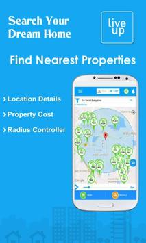 LiveUp-Real Estate & Property Search in India poster