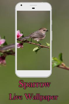 Sparrow live wallpaper screenshot 1
