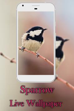 Sparrow live wallpaper screenshot 3