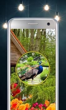 Peacock Clock screenshot 3