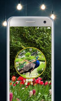 Peacock Clock screenshot 5