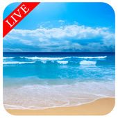 Live Beach Free Wallpaper HD icon