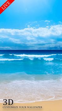 Live Beach Free Wallpaper HD screenshot 1