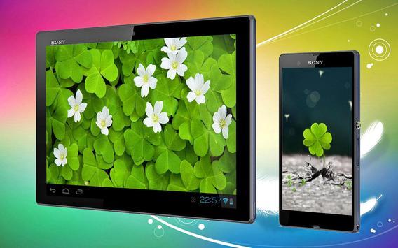 Clover 3D Live Wallpaper screenshot 2