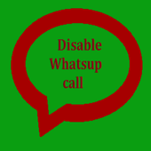 Disable WhatsApp Calling icon