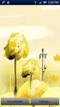 Maple Leaf Live Wallpaper Pro poster