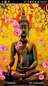 spiritual buddha live wallpaper plakat