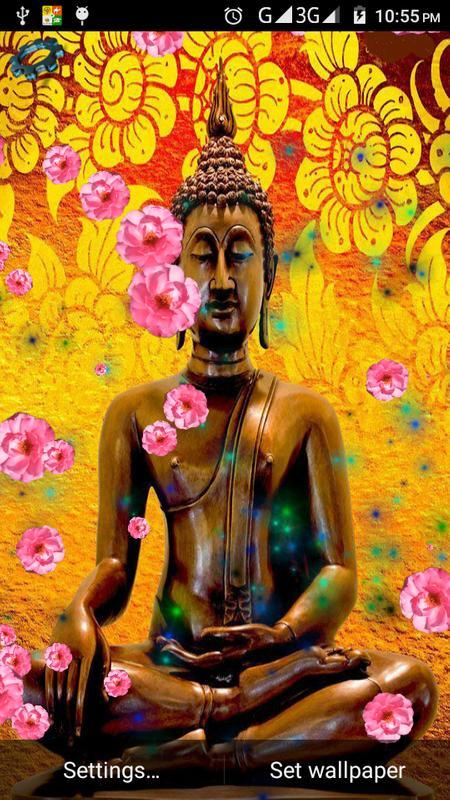 Buddha God Live Wall Poster