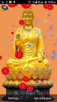 spiritual buddha live wallpaper screenshot 1