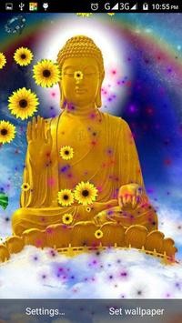 spiritual buddha live wallpaper Screenshot 2