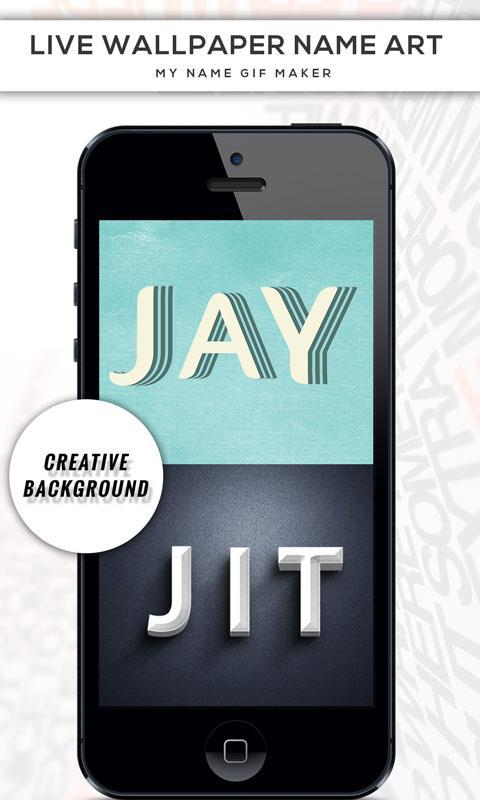 ... Live Wallpaper Name Art : My Name GIF Maker screenshot 15