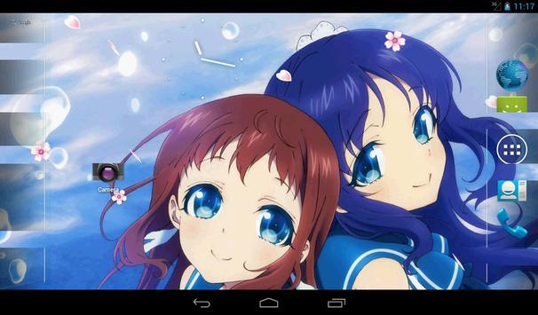 Nagi no Asukara Live Wallpaper poster