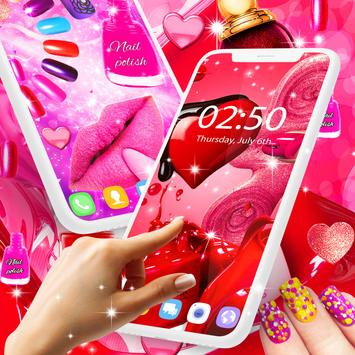 Nail Art For Girls Live Wallpaper For Android Apk Download