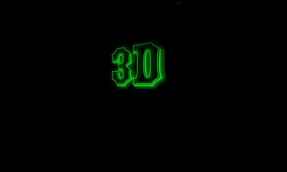3D LED My Name Live Wallpaper Apk Screenshot