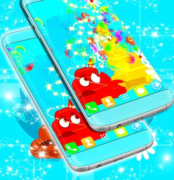 Cute Emoji Live Wallpaper apk screenshot