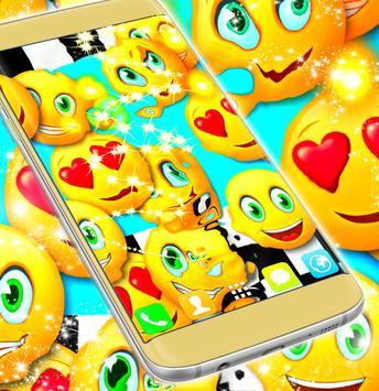 Emoji 2017 Race Live Wallpaper apk screenshot