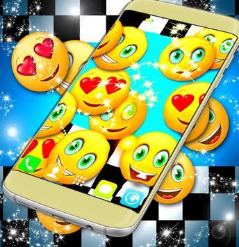 Emoji 2017 Race Live Wallpaper poster
