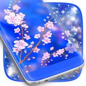 Cute Cherry Flower Live Wallpaper icon