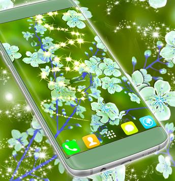 Live Wallpaper Free Flowers poster
