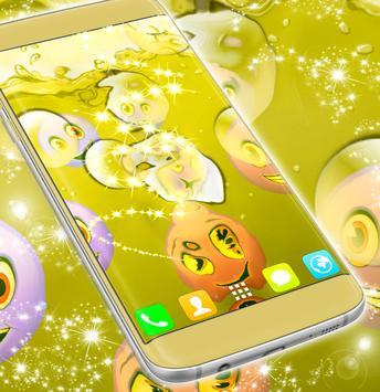 Emoji Live Wallpaper 3D poster