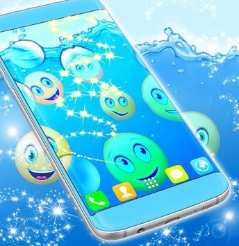 Water Emoji Wallpaper screenshot 1