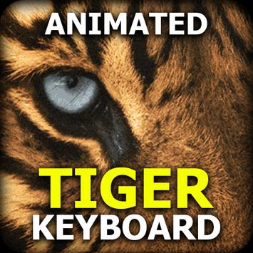 Live Tiger Keyboard - Animated Keyboard Theme poster
