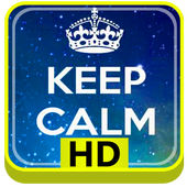 Keep Calm HD icon